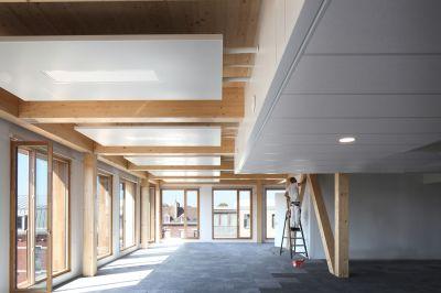 Tereneo Offices - Arch : Béal & Blanckaert - Photo : Julien Lanoo