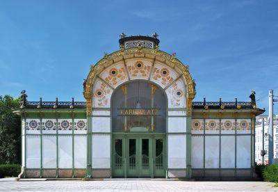 Exposition Otto Wagner, Maître de l'art nouveau viennois à la Cité de l'architecture et du patrimoine © AC Manley/Photo12/Alamy