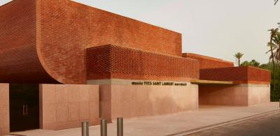 Grand Prix AFEX 2018 - Musée Yves Saint Laurent à Marrakech, Maroc - Arch. Studio KO © Dan Glasser, AFEX
