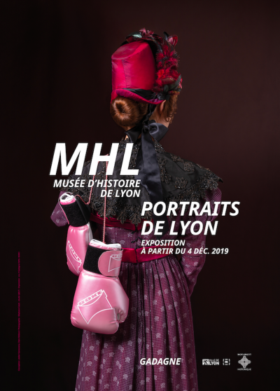 Affiche Portraits de Lyon au Musée d'Histoire de Lyon © MHL