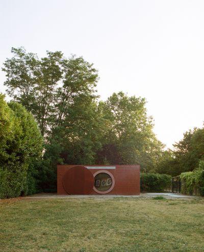 Logis pour archers - Arch. Boman Architectes - Photo : Antoine Séguin