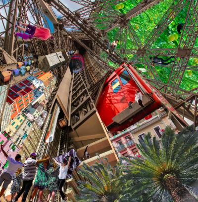 """Le concours la """"Cité des Ascensions Durables"""" invite à réfléchir à nos modes de circulation dans nos villes en 2050"""