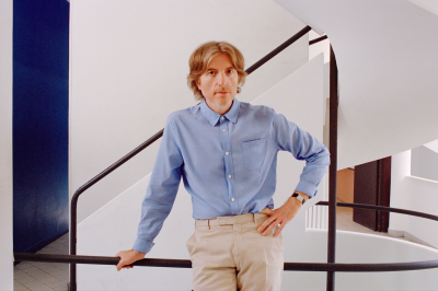 Nicolas Godin pour Concrete & Glass, 2020 © Camille Vivier
