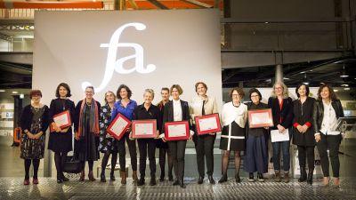 Le prix Femme architecte organisé par l'ARVHA a récompensé Dominique Jakob en 2019 © ARVHA