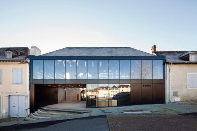 Médiathèque et Atelier de cuisine - Arch. œco architectes © Franck Brouillet
