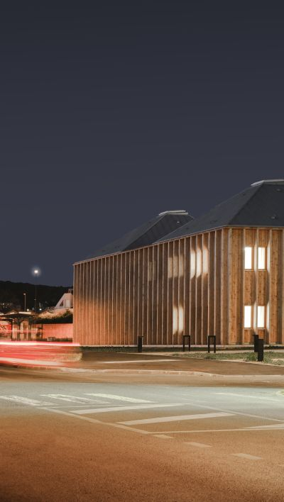 Pôle de santé pluridisciplinaire - Arch. Maaj architectes © François-Xavier Da Cunha Leal