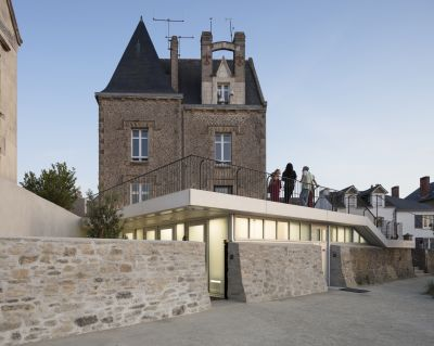 Capitainerie de Piriac-sur-Mer - Arch. THE architectes © Philippe Piron