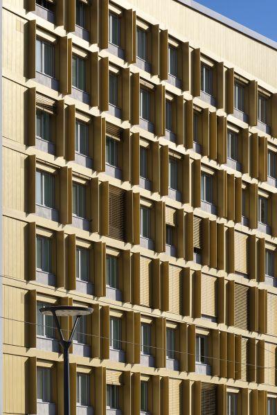Résidence étudiante - Arch. Séméio architecture  © Nicolas Waltefaugle