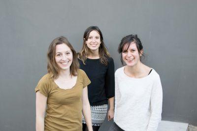 Élise Giordano, Charlotte Lovera et Louise Dubois de l'Atelier Aïno © Atelier Aïno, Nadia El Khalfi