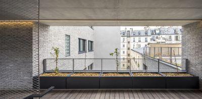 Logements à Paris - Arch. ChartierDalix © Sergio Grazia