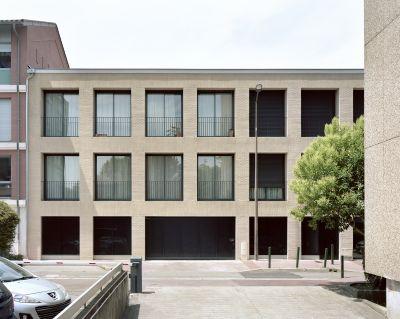 Logements «Les demoiselles» - Arch. Bétillon & Freyermuth Architectes © Maxime Delvaux