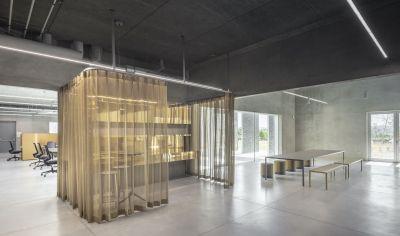 Maison du technopôle - arch. Randja Farid Azib Architects © Luc Boegly