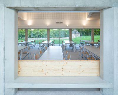 Restaurant scolaire - Arch.Tristan Brisard architecte © François Dantart