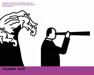 «Et soudain, le monde fut immobilisé», Ruedi Baur, septembre 2020 © Nouvelles éditions Place, Ruedi Baur