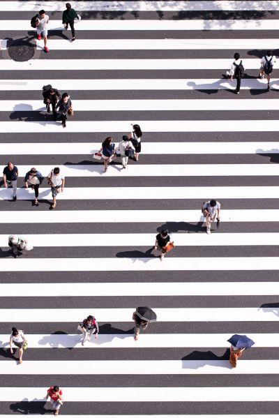 walk walk walk © Ryoji Iwata