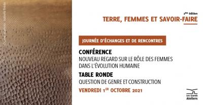 Terre, Femmes et Savoir-faire - Journée d'échanges aux Grands Ateliers le 1er octobre 2021