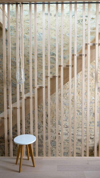 Restructuration globale d'une maison aux Sables d'Olonne - Arch. Armel Joly Architecte © Armel Joly
